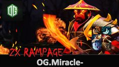 Amazing Double Rampage Ember Spirit by OG.Miracle- 35 Kills