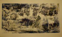 Printmaking Class-Monoprint study