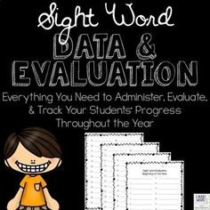 Sight Word Data and Evaluation from I Heart Grade 3 Teaching Sight Words, Sight Words List, Teaching Grammar, Third Grade Writing, Third Grade Math, Grade 3, Reading Resources, Math Resources, Classroom Resources