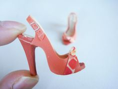 Miniature High Heel Shoes
