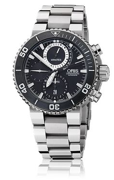 Oris Divers - Oris Carlos Coste Chronograph Limited Edition - Cenote Series 01 674 7655 7184-Set