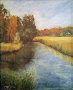 Oil, 16 x 20 by Don Sturdivant Landscape Paintings, Oil, Landscape, Landscape Drawings, Butter