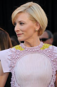 Short Hairstyles Lookbook: Cate Blanchett wearing Short Straight Cut (21 of 55). Cate Blanchett looked regal at the 83rd Annual Academy Awards. The actress styled her locks in a side swept straight cut.