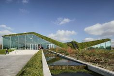 Dutch Museum Renovation Features Living Roof - http://freshome.com/dutch-museum-renovation/