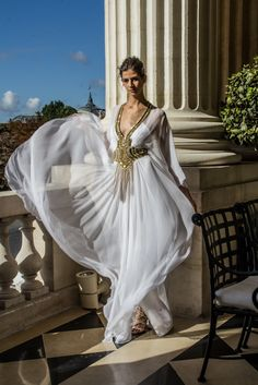 Zuhair Murad- RTW Spring/Summer 2013 Collection- Presentation in Paris at Hotel Crillion
