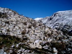 Here are ten of the most unique and beautiful villages and towns in Greece Best Ski Resorts, Greece Holiday, Mountain Village, Ancient Beauty, Unique Architecture, Greece Travel, City Photo, Tourism, Greek
