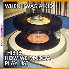 OMG I spend so much money on 45's and Anthology albums and make your head spin. I should have been a DJ LOL...