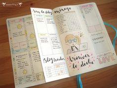 Dutch page bullet journal by Zunzun