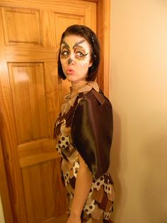 25 diy halloween costumes for mom henry happened diy projects image detail for from dahlias to doxies diy lady owl costume solutioingenieria Images