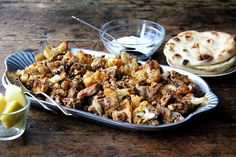 "Sheet Pan Chicken and Cauliflower ""Shawarma"" recipe on Food52"