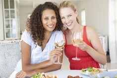 El vino blanco también es bueno para la salud