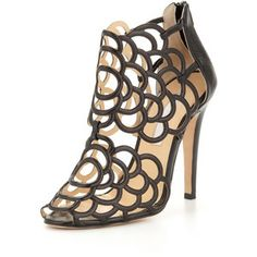 Women's Gladia Leather Cage Bootie