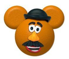Mr. Potato Head from Toy Story inspired Mickey Head digital printable file DIY