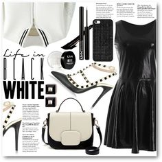 How To Wear Black Or White Outfit Idea 2017 - Fashion Trends Ready To Wear For Plus Size, Curvy Women Over 20, 30, 40, 50