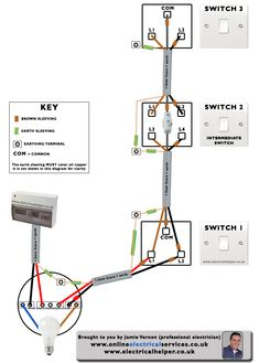 3 way switch diagram wiring 2 phase electrical geyser circuit schematic wiringdiagram org beautiful how to wire a 45 for sony cdx gt23w switches