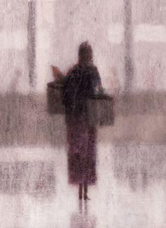 Terrific illustrations and doodles by Dadu Shin. Maurice Sendak, Purple Haze, Shades Of Purple, Purple Grey, Magenta, Neko, Out Of Focus, Painting People, You Draw
