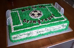 Soccer Field By djs328 on CakeCentral.com
