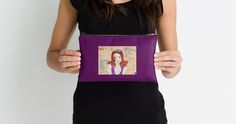 """""""Beauty Queen"""" Studio Pouches by RabbitWithFangs   Redbubble"""