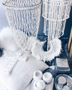Our new range of props available for hire. #home #interiors #prophire #eventstyling #scandinavianinteriors #bohemianinteriors #bohemianhome #scandinavianhome #shellchandeliers #interiorstyling