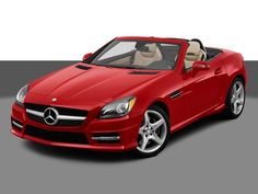 mercedes slk. My mom inherited a yellow hartop convertible SLK from my grandpa, and it was the coolest car ever. I want one someday. :)