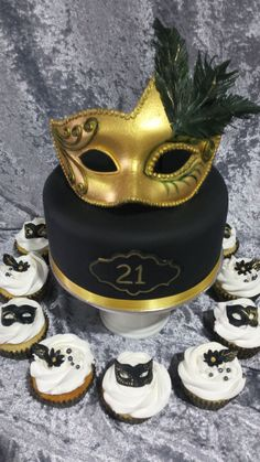 Masquerade Party  on Cake Central