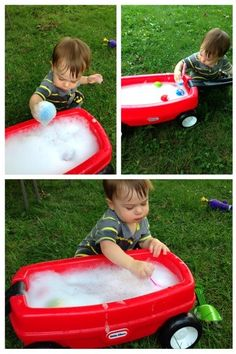 Summer Sudsy Fun for Kids