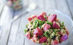 Roasted Beet Sorghum Salad With Ginger-Lime Vinaigrette [Vegan] | One Green Planet