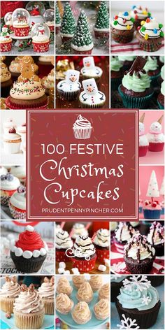 Try one of these festive Christmas cupcakes for dessert this holiday season! The… Try one of these festive Christmas cupcakes for dessert this holiday season! There are peppermint, gingerbread, eggnog flavored cupcakes. Holiday Cupcakes, Holiday Baking, Christmas Desserts, Holiday Treats, Holiday Recipes, Christmas Cupcake Flavors, Christmas Drinks Alcohol, Christmas Cupcakes Decoration, Christmas Cup Cakes Ideas