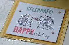 Today I made a explosion box for the 2nd birthday of our friends' daughter using Stampin' Up! supplies, here: Love you lots. More to see on my blog Lenky & Verzickt: Explosionsbox zum 2. Geburtstag
