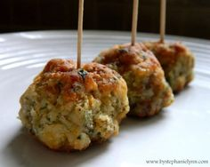 Sausage Cheese Ball Appetizers