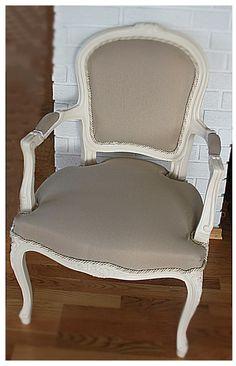 Det er mange som spør meg om det er vanskelig og trekke om en gammel stol og svaret er nei !! det er kjempelett , men det er utrolig mye og...