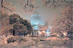 Зимняя сказка - Исаакиевская площадь