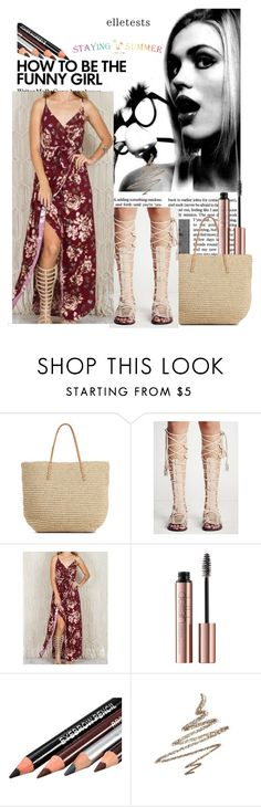 """""""42 stayingsummer"""" by mersudin-becirovic-1 ❤ liked on Polyvore featuring Target and Anastasia Beverly Hills"""