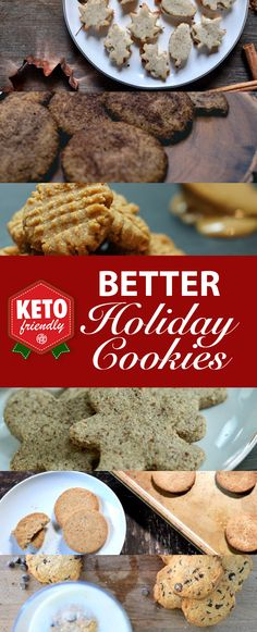 Check out these delicious KETO cookie recipes! Yummy and perfect to keep KETO while celebrating this holiday season!
