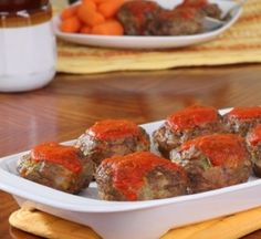 Mini Meat Loaves...My Kids love these :)