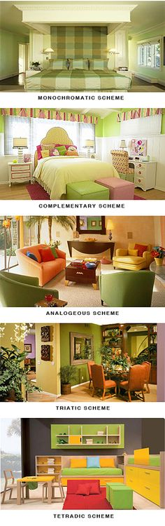 great information on colours for interior painting