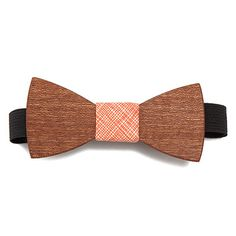 Look what I found at UncommonGoods: orange pop wooden bow tie... for $45 #uncommongoods