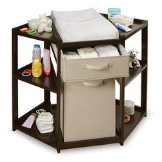 Found it at Wayfair - Diaper Corner Baby Changing Table with Hamper and Basket http://www.wayfair.com/daily-sales/p/Modern-Nursery-with-a-Touch-of-Whimsy-Diaper-Corner-Baby-Changing-Table-with-Hamper-and-Basket~BP1430~E19061.html?refid=SBP.rBAZEVS-ngaAghUUqvNCAhVqYO9O709RlDebuDJucNk