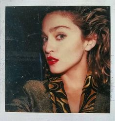 Madonna Polaroid Desperately Seeking Susan 1985