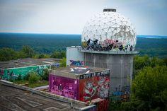 urban art galerie  abhrstation auf dem teufelsberg berlin  urbanpresents  streetart urbex graffiti