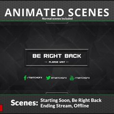 9 Best Twitch screen scenes graphics images in 2019