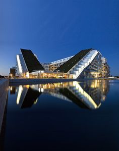 View full picture gallery of 8 Tallet Amazing Architecture, Contemporary Architecture, Interior Architecture, Futuristic Architecture, Unusual Buildings, Modern Buildings, 8 House Big, Bjarke Ingels Architecture, Big Architects