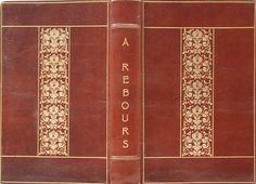 HUYSMANS, Joris-Karl - A rebours. Paris, G. Charpentier et Cie, 1884,