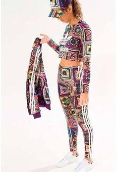 adidas original adidas patterned leggings - Google Search
