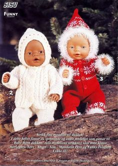 Album – Google+ Knitted Doll Patterns, Knitted Dolls, Baby Patterns, Baby Born Clothes, Girl Doll Clothes, Newborn Crochet, Crochet Baby, Ag Dolls, Girl Dolls