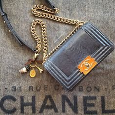 Love for Chanel Boy. #chanel