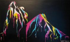 "Shane Turner: Pittura Time lapse velocità con Acrilici ""Divided By Night"" | Guarda il Video Art Tutorial online GRATIS Artisan HQ"