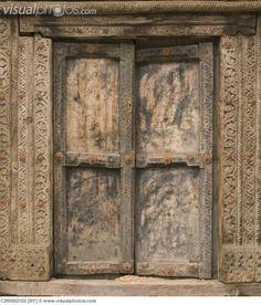 Double Doors of Old Building