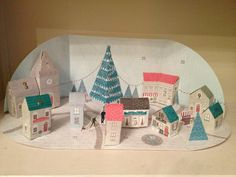 Morning:) Build a town advent calendar - day 20 adds a sweet shop !