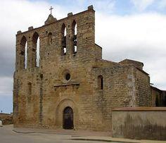 Església de Sant Esteve, a Peratallada. Baix Empordà (Catalonia)